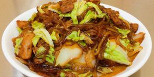 猪肉白菜炖粉条做法,东北特色美食之一