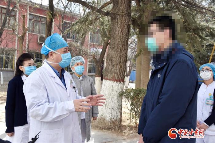 兰大一院第四第五例新冠肺炎确诊患者治愈出院