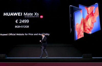 华为第二代5G折叠屏手机Mate Xs发布 售价2499欧元