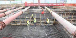西安地铁6号线二期工程首座车站今日顺利封顶
