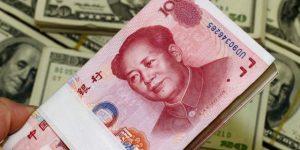 在岸人民币对美元汇率开盘大涨近400点