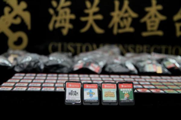 """男子身绑625张游戏卡走私被抓,含""""动物森友会""""等"""