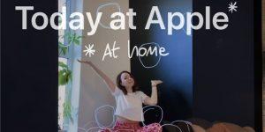 """苹果推出新的 """"Today at Apple(at Home)""""计划"""