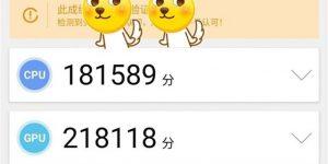 魅族17安兔兔跑分曝光:总分超58万