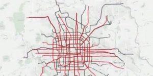 北京地面公交线网总体规划草案发布