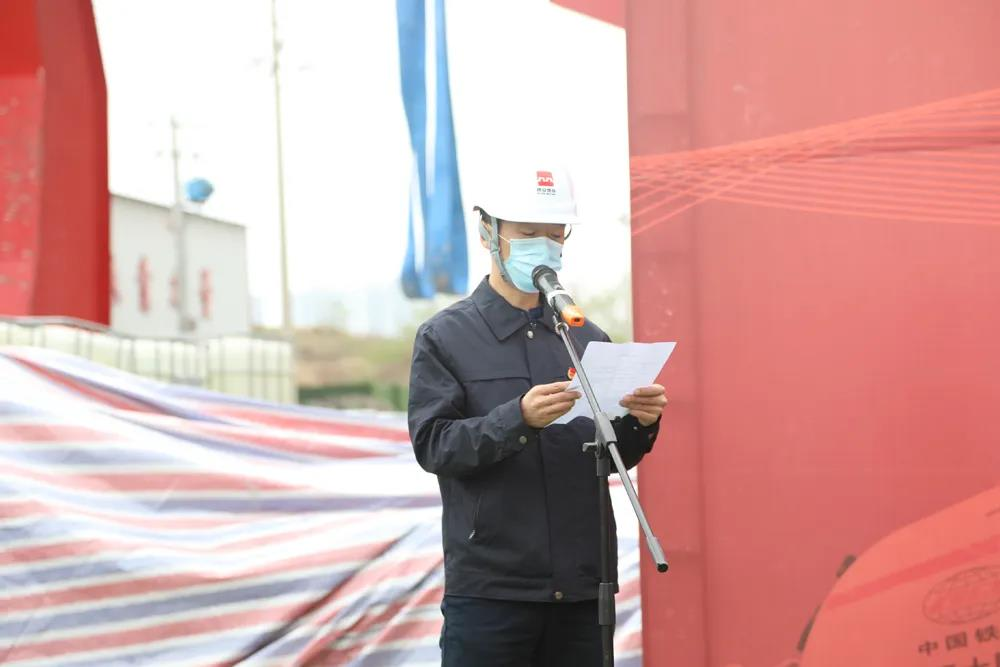 """马一博同志荣获市轨道集团""""西安青年五四奖章"""""""
