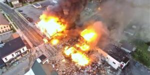西安建东街一多层小区天然气闪爆 一人不幸身亡