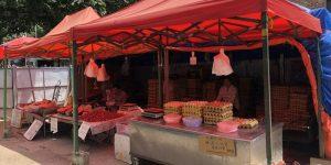 西安多家菜市场猪肉最近降到20元以下