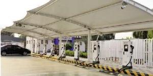"""充电桩纳入""""新基建"""" 陕西公共充电桩保有量达1.5万台"""
