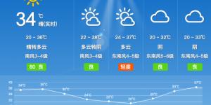 西安古城38℃高温来袭 市民做好防暑降温