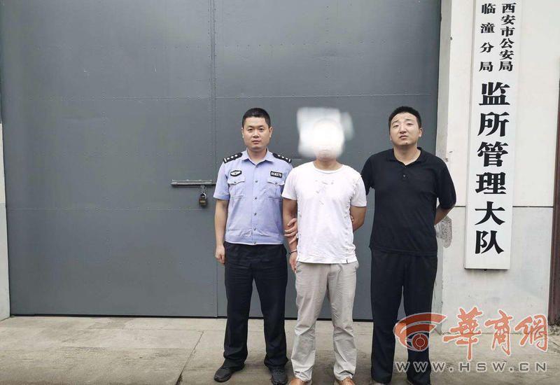 西安一男子酒后恐吓他人蹬踹民警拒不配合 被拘留