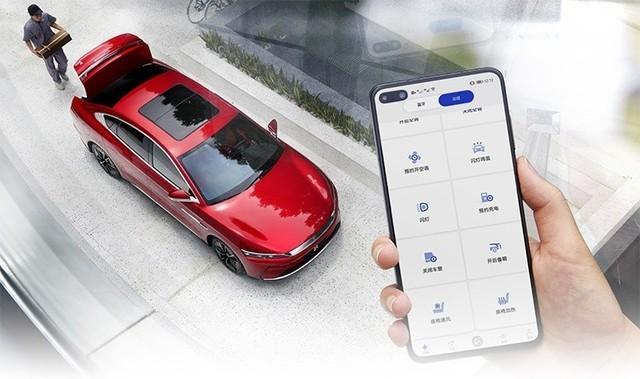 比亚迪新车搭载华为鸿蒙OS,对标苹果CarPlay