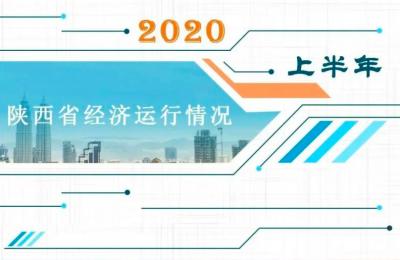 2020年上半年陕西经济运行情况