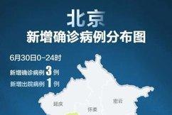 31个省区市新增确诊病例3例,均在北京
