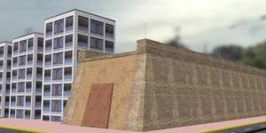 明秦王府城墙遗址修复保护砌体坍塌部