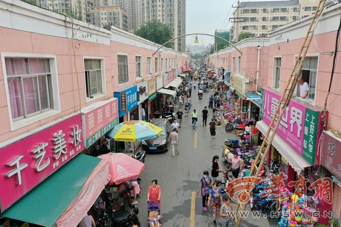 西安一近20年的商业街突然被通知是违建