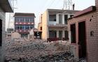 长安西寨村拆迁彻夜施工 居民被折磨的无法入睡