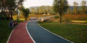 西安灞河左岸生态公园十一将正式开园