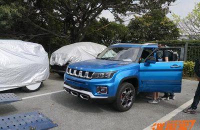 2020广州车展探馆:北京越野BJ30实车