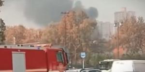 突发!西安西郊一电容器厂起火 事发时现场有巨响