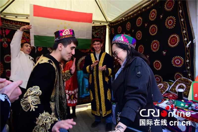 陕西省国际学生文化艺术周巡演彰显国际范