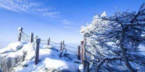 12月1日宝鸡太白山景区暂停售票、索道停运