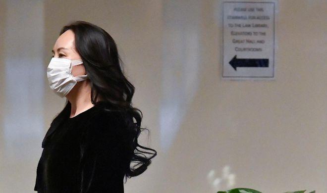 美媒:美司法部允许孟晚舟回国以换取部分认罪