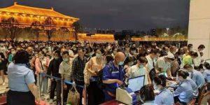 7月21日 西安火车站、西安北站途经郑州列车全部停运