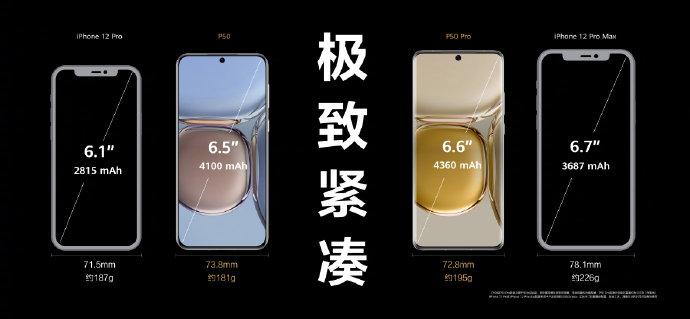 华为P50什么时候上市?昨日华为P50手机发布
