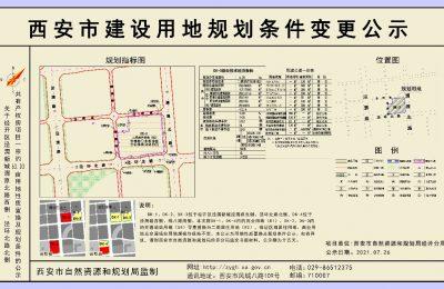 经开区泾渭新城一共有产权房项目与一宗约63.03亩用地性质将置换