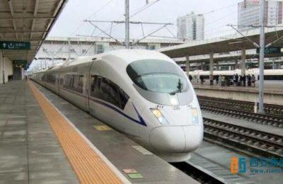 汉中始发G656次高铁列6小时可抵达北京
